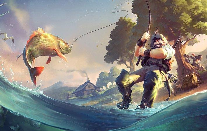 Все о рыбалке в Albion Online