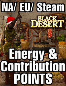 Black Desert: Energy & CP